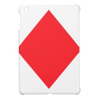 Red Diamond - Suit of Gambling Cards iPad Mini Cases
