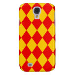 Red Diamonds Galaxy S4 Cover