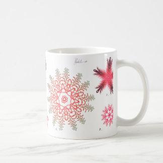 Red Diatom Coffee Mug