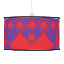 Red Dice Ceiling Lamp
