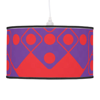 Red Dice Ceiling Lamp