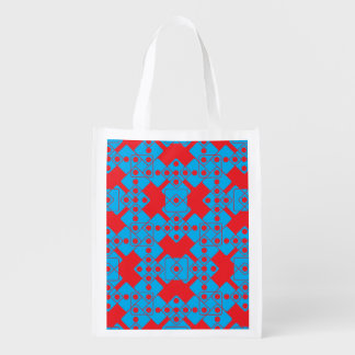 Red Dice Grocery Bag