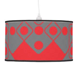 Red Dice Hanging Lamp