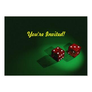 Red Dice Invitation