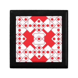 Red Dice Jewelry Box