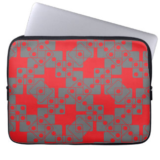 Red Dice Laptop Computer Sleeves