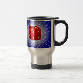 Red Dice Travel Mug