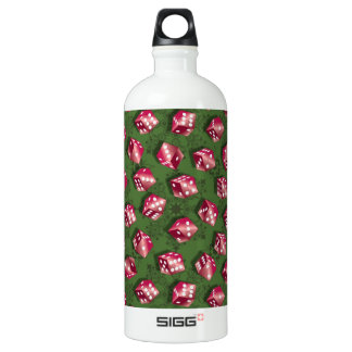 Red Dice Water Bottle