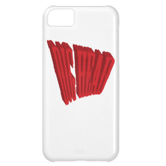 Red Dig Head Half Tone iPhone 5C Cover