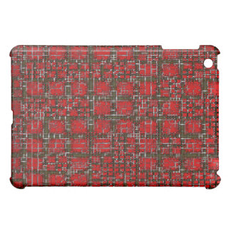 Red Digit Analyzer Tablet I Pad Case Cover For The iPad Mini