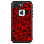 Red Digital Camouflage iPhone 7 LifeProof Case