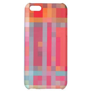 Red Digital Plaid iPhone Case Case For iPhone 5C