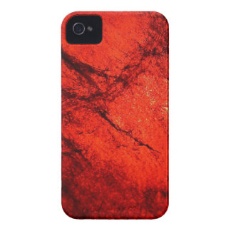 red Digital Radial Colours Blur Glow Art Beautiful iPhone 4 Cover