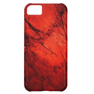 red Digital Radial Colours Blur Glow Art Beautiful iPhone 5C Cover