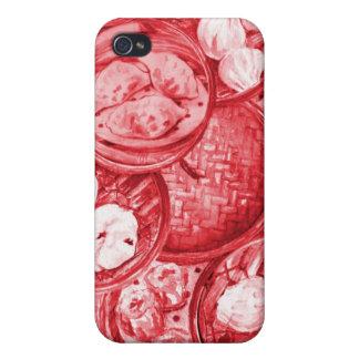 Red Dim Sum Speck Case iPhone 4 Case