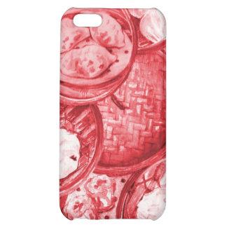Red Dim Sum Speck Case iPhone 5C Covers