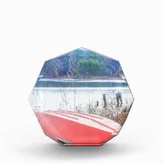 Red Dingy Maine Acrylic Award