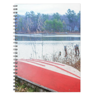 Red Dingy Maine Notebook