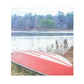 Red Dingy Maine Notepad