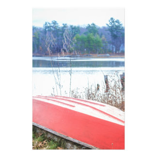 Red Dingy Maine Stationery