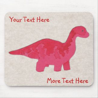 Red Dino Mousepad