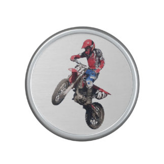 Red Dirt Bike Bluetooth Speaker
