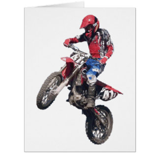 Red Dirt Bike Cards
