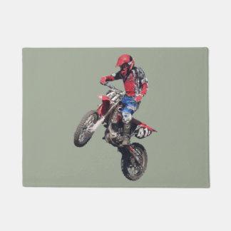 Red Dirt Bike Doormat