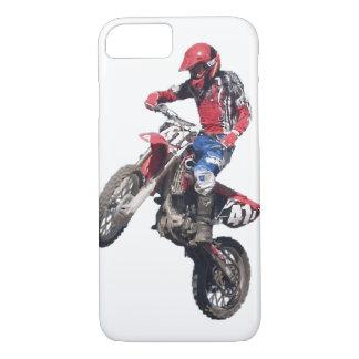 Red Dirt Bike iPhone 7 Case
