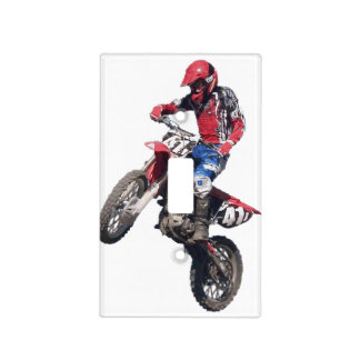 Red Dirt Bike Light Switch Cover