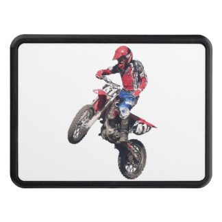Red Dirt Bike Tow Hitch Covers