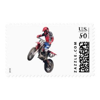 Red Dirt Bike Postage