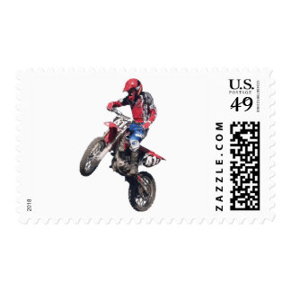 Red Dirt Bike Stamps