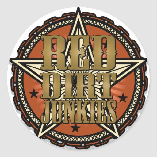 Red Dirt Junkies Promo Stickers