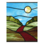 Red Dirt Road in PEI Summer Personalized Letterhead