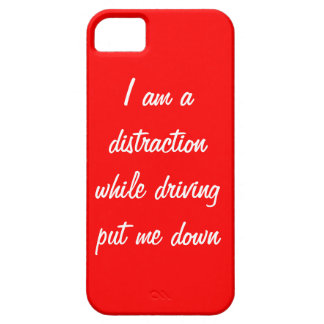 red distraction case iPhone 5 covers