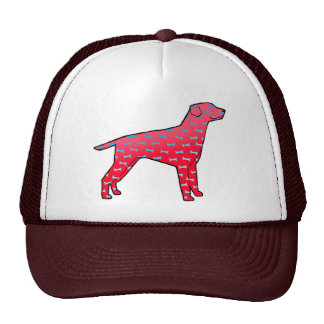 Red Dog Design Trucker Hat