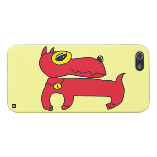 Red Dog iPhone 5 Case
