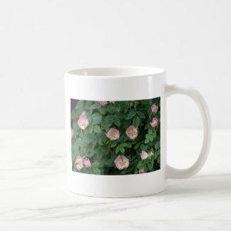 Red Dog rose flowers Mug