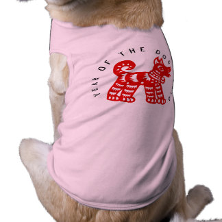 Red Dog Year 2018 shirt for pets