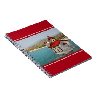 Red Domed Church Notebook