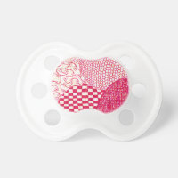Red Doodle Pacifier