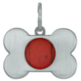 Red Door by S. B. Eazle Pet Tag