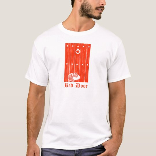 Red Door Guinea Pig T-Shirt
