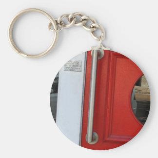 Red Door Key Chain