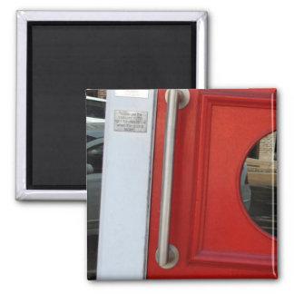Red Door Magnet