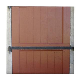Red Door Tile