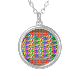 RED dot and Sparkle JEWEL Art by NAVIN Joshi GIFTS Pendants