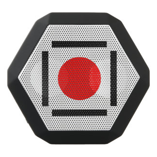 Red dot black bluetooth speaker