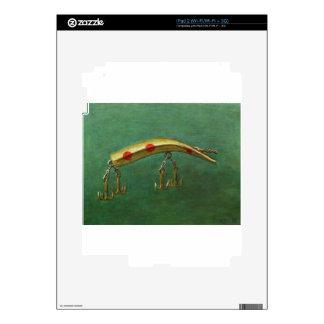 Red Dot Fishing Lure iPad 2 Decal